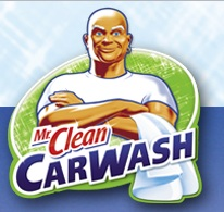 Proctor & Gamble's Mr Clean Car Wash Brand Logo