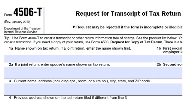 Small Business Due Diligence – Verifying Seller's Tax Returns via IRS 4506