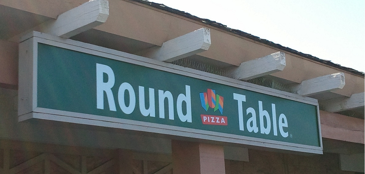 Tale of a Closed Round Table Pizza