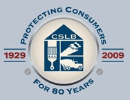 California Contractor State License Board Logo