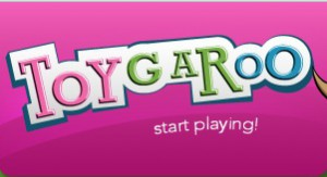 Toygaroo Logo From Shark Tank featuring High Stakes Negotiation