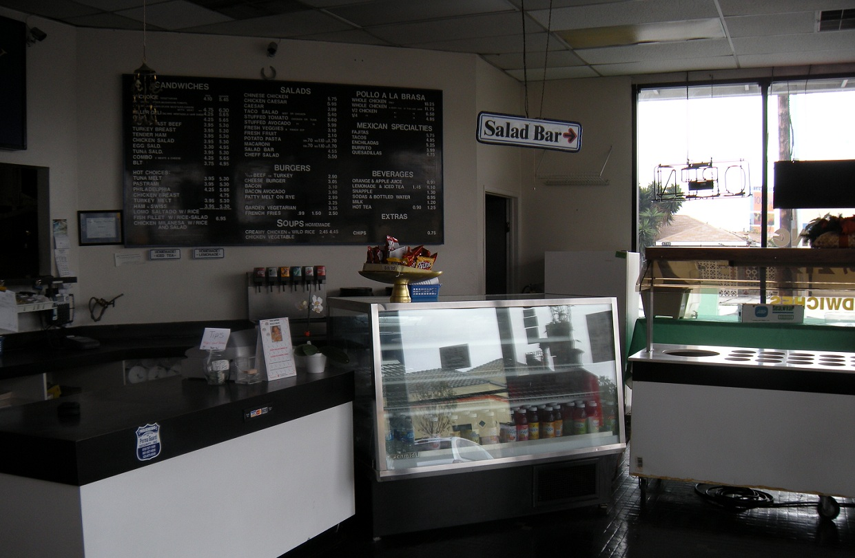 Interior of Corporate Catering Business