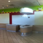 Interior Image of Former La Salsa Space in Irvine Approximately 2,527 square feet for Lease Contact Pramod Patel (323) 213-9193 for more information
