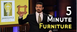 Jared Joyce of Five Minute Furniture as Seen on ABC's Shark Tank