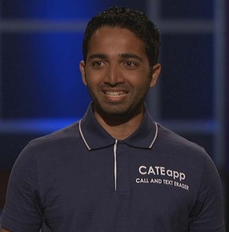 Neal Desai of CATEapp as seen on ABC's Shark Tank