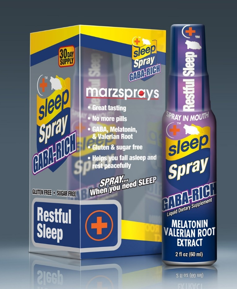 MarzSpray Sleep Spray available on Amazon.com