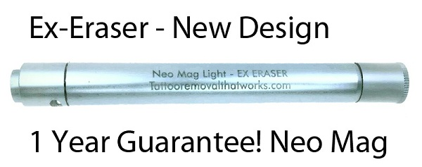 Neo Mag Light Tattoo Removal Device available on Amazon.com