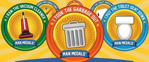 Man Medals on Amazon.com