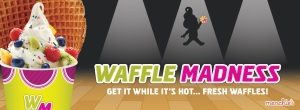 Menchie's Frozen Yogurt Waffle Madness Promotion