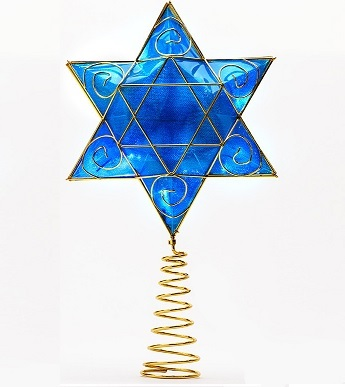 Hanukkah Tree Topper as seen on ABC's Shark Tank
